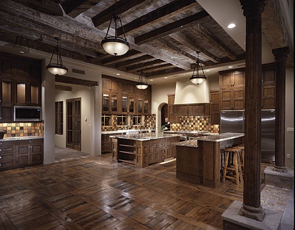 Six degrees of separation from a white kitchen! | HOME AND GARDEN - Pics Of Rustic Industrial Kitchen