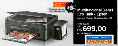 Pré Black Friday Multifuncional Epson