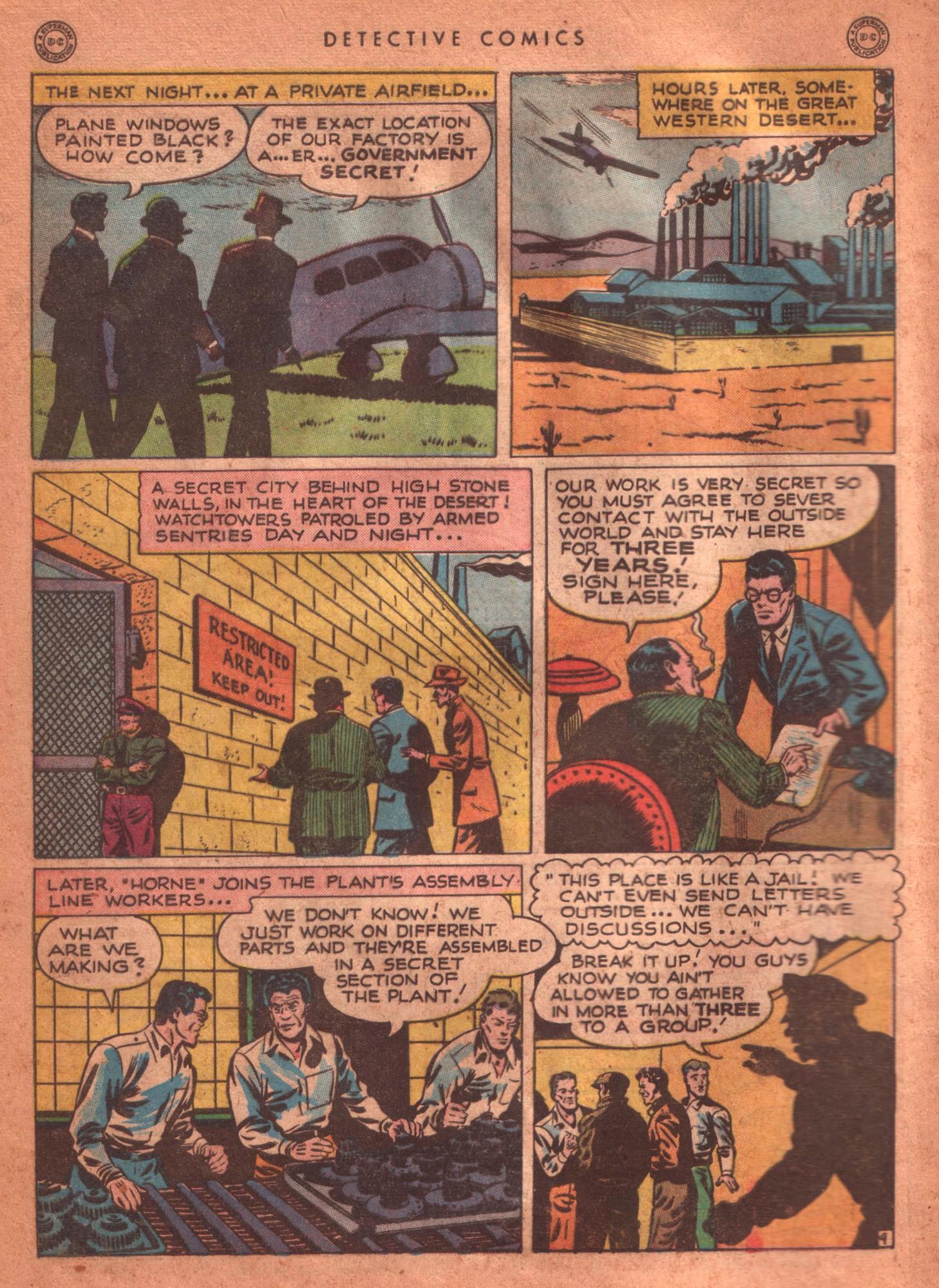 Read online Detective Comics (1937) comic -  Issue #125 - 6