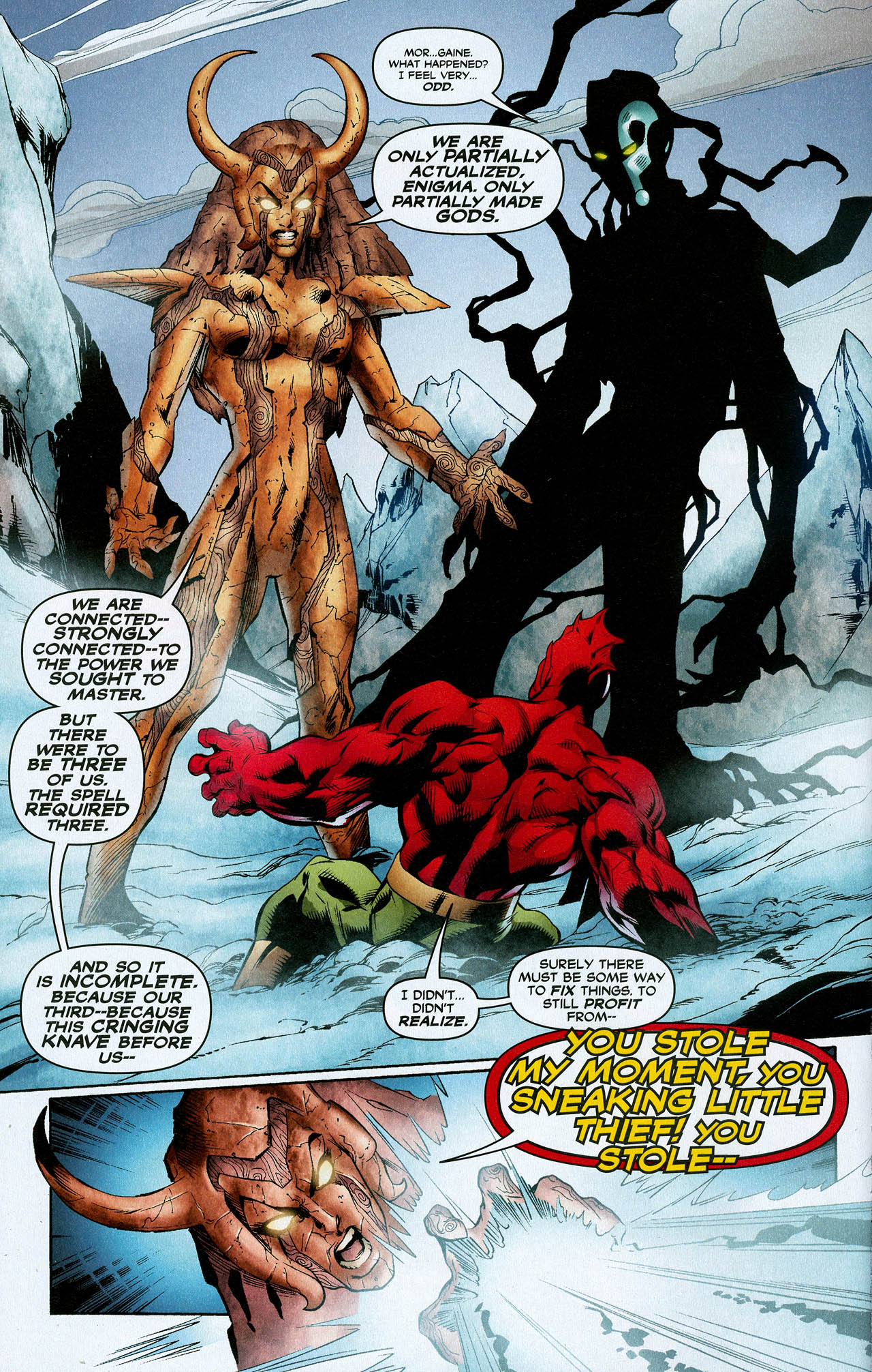 Read online Trinity (2008) comic -  Issue #21 - 16