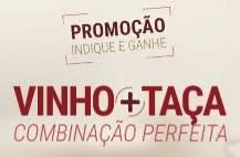 Promoção Wine VInho 2018 Indique Ganhe Taça + Cupom de Até 100 Reais