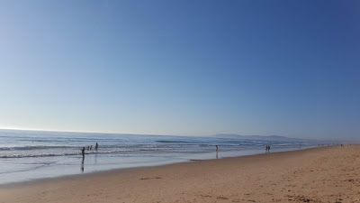 (Almost) Wordless Wednesday - the beach in October