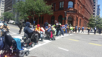 ADAPT marching in Washington DC