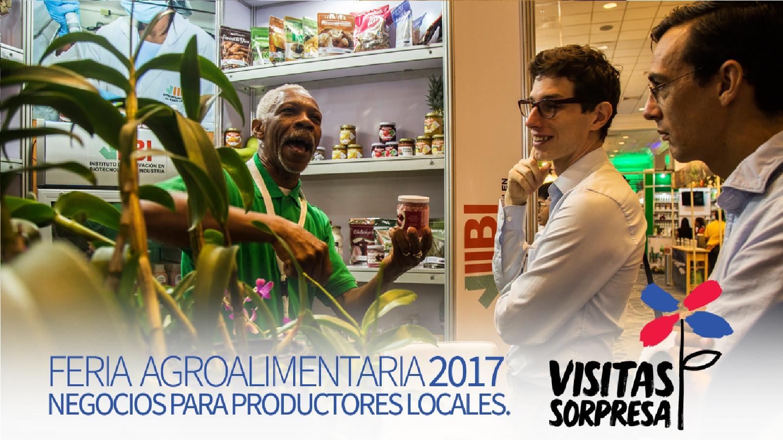 VIDEO: Feria Agroalimentaria 2017: negocios para productores locales