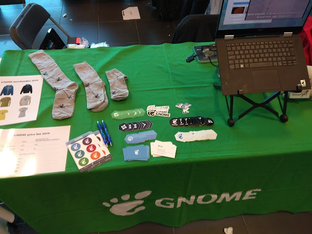 GNOME booth at FOSDEM 2019
