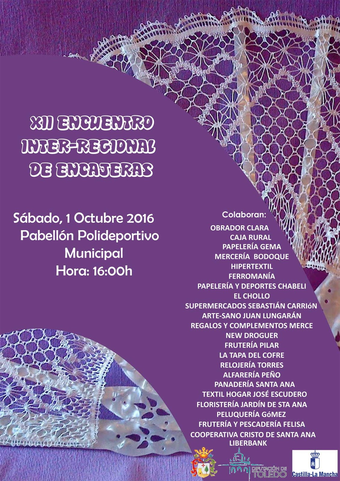 Las labores y manualidades de caterine citas del 1 y 2 de for Eventos en barcelona este fin de semana
