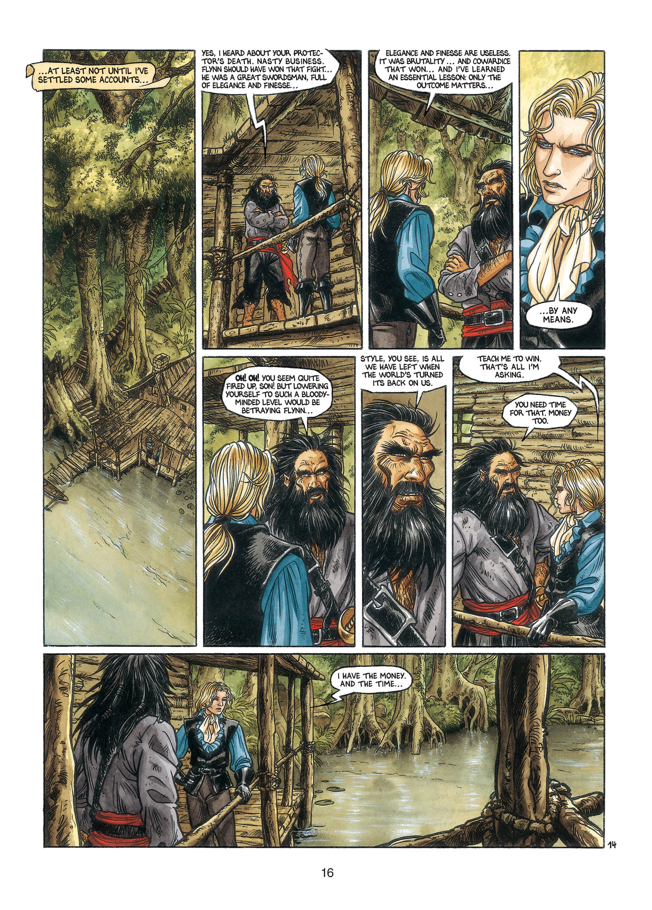 Read online Barracuda comic -  Issue #3 - 17
