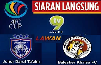 Live streaming JDT Vs Balestier Khalsa