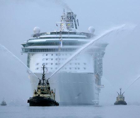 The World Largest Cruise Ship Pakistan Affairs