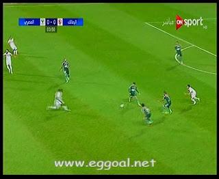 هدف مباراة الزمالك ضد المصري البورسعيدى | احمد جعفر