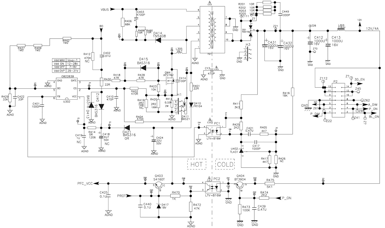 tcl les9b21 lcd tv power supply regulator schematic electrotricks figure 2 block diagram of an lcd tv power supply [ 1600 x 950 Pixel ]