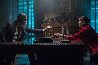 Keanu Reeves Anjelica Huston John Wick: Chapter 3 - Parabellum movie