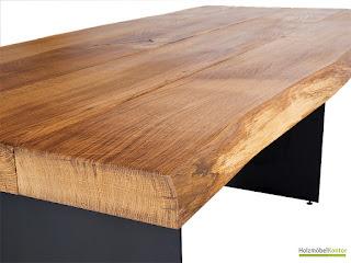 Betten aus Holzbalken • Massivholz Qualität: Eichentisch