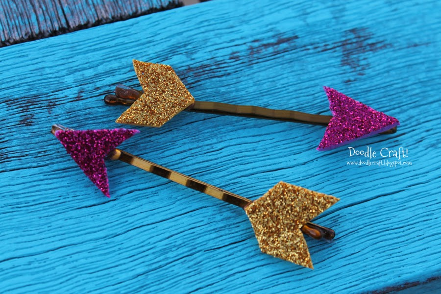 http://doodlecraft.blogspot.com/2014/02/glitter-cupids-arrow-bobby-pins.html