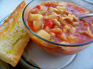 Tomato Soup with Potatoes (Patatesli Domates Corbasi)