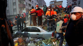 Death toll from Turkey collapsed building  hits 21
