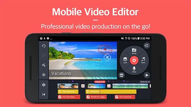 Kinemaster - Aplikasi Edit Video Terbaik Untuk Android