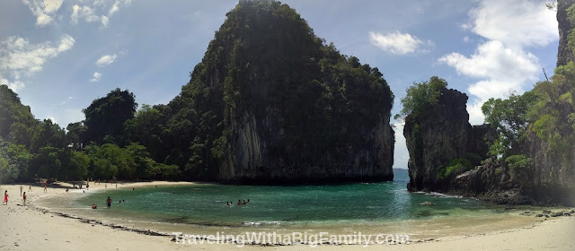 Going to Koh Hong near Krabi, Thailand with a big family