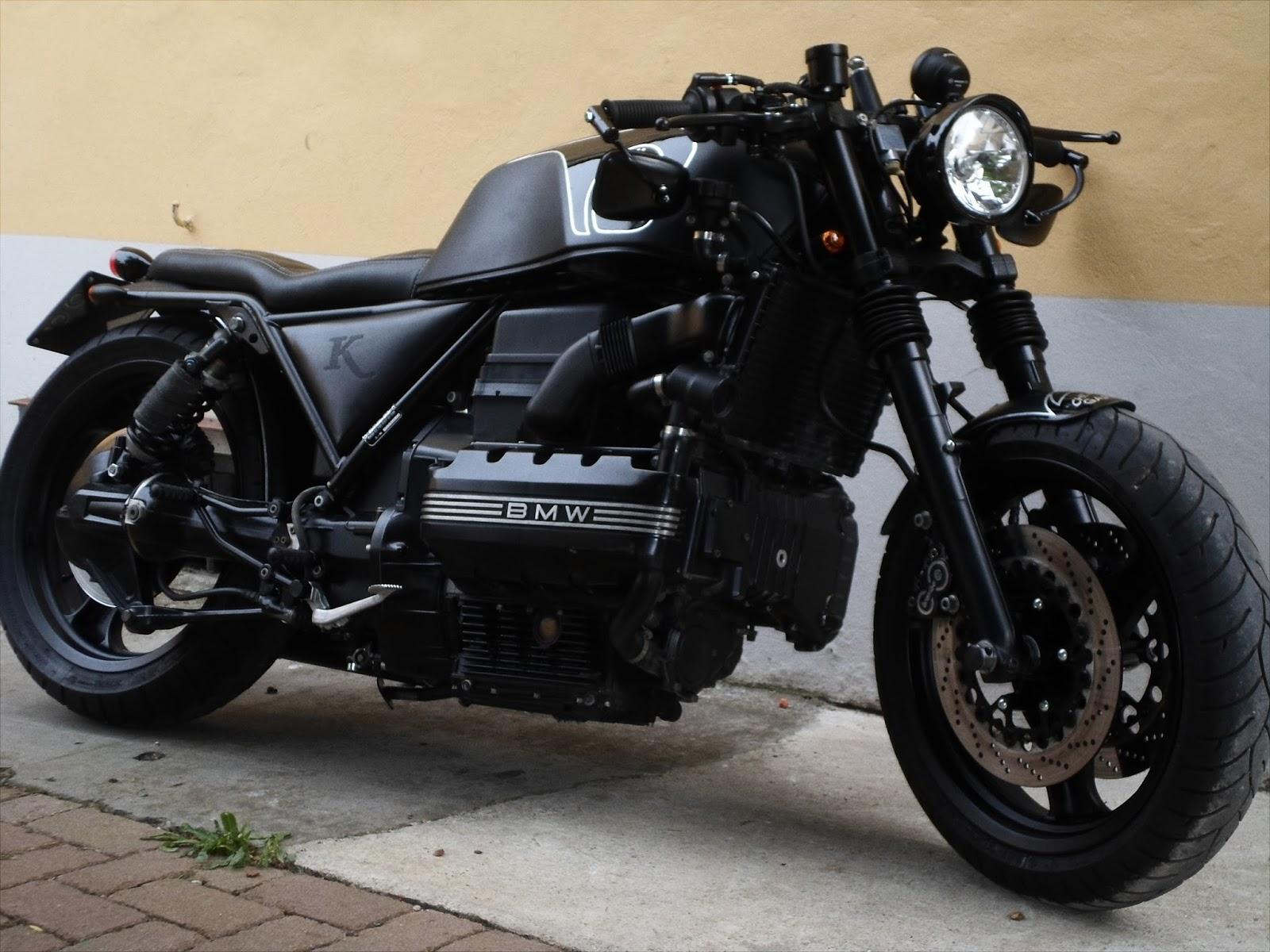 motociclette chemical garage bmw k100 bobber. Black Bedroom Furniture Sets. Home Design Ideas