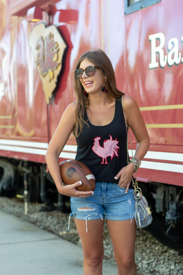 Rooster Tank For College Football Game | Chasing Cinderella