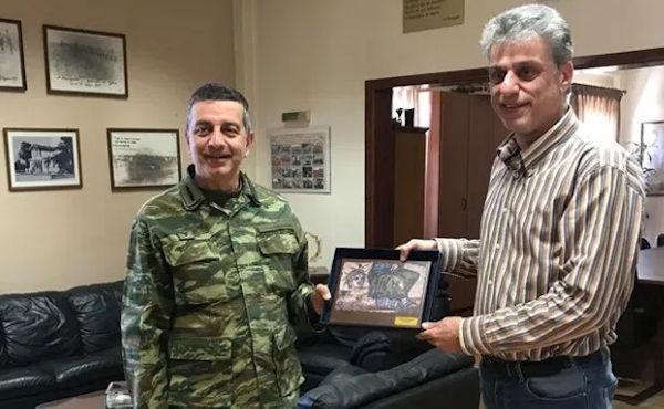 Συνάντηση Διοικητή 16ης Μεραρχίας Πεζικού με Δήμαρχο Ορεστιάδας (ΦΩΤΟ)
