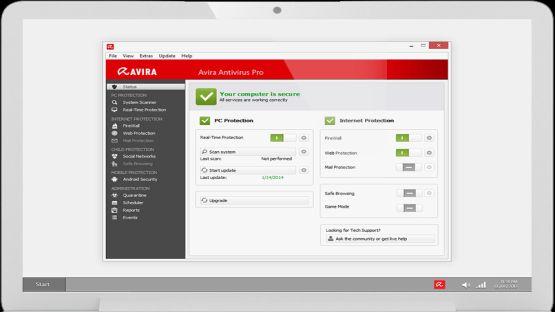 Avira Antivirus screenshot 2