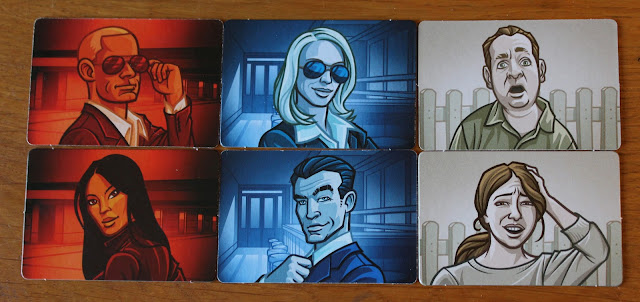 Codenames review card game - secret identity cards