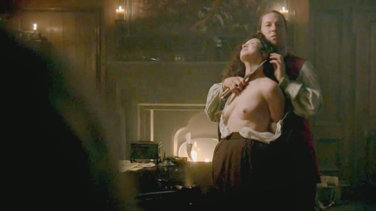 Caitriona balfe nude outlander s01e02