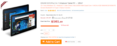 CHUWI Hi10 Pro 2 in 1