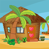 Play AvmGames Beach Hut Escape