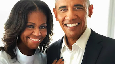Barack and Michelle Obama, founders of the Obama Foundation