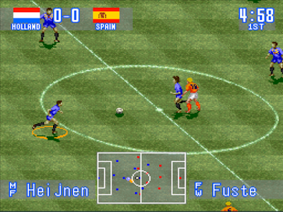 International Superstar Soccer (1994) 1.1