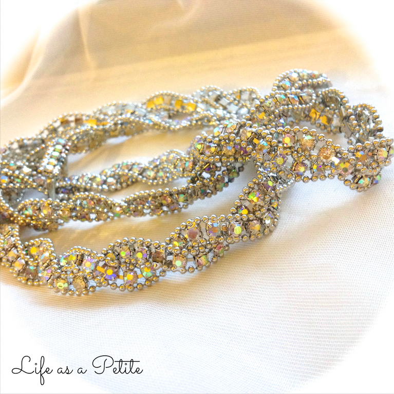 Sparkly Belt (Life as a Petite)