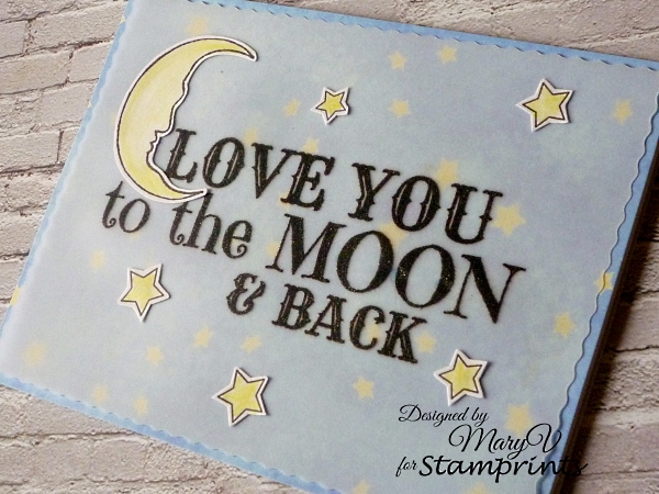 To the Moon, Etsy Shop, Stamprints