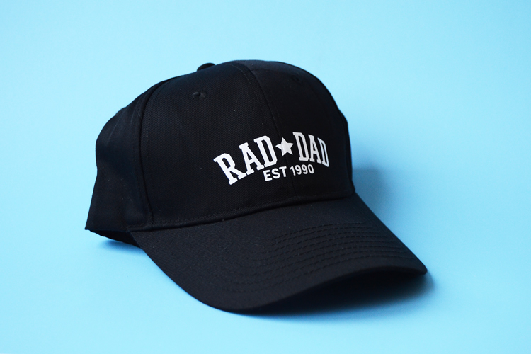 rad dad baseball cap free cut file