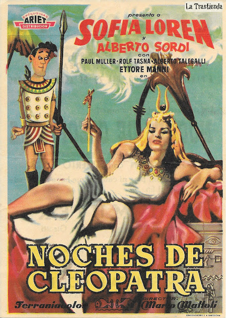 Noches de Cleopatra - Programa de Cine - Sofía Loren - Alberto Sordi
