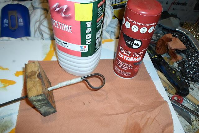 préparation pour mise en peinture