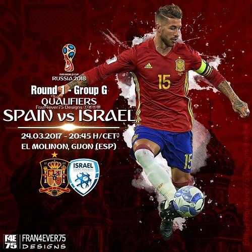 Spanyol vs Israel