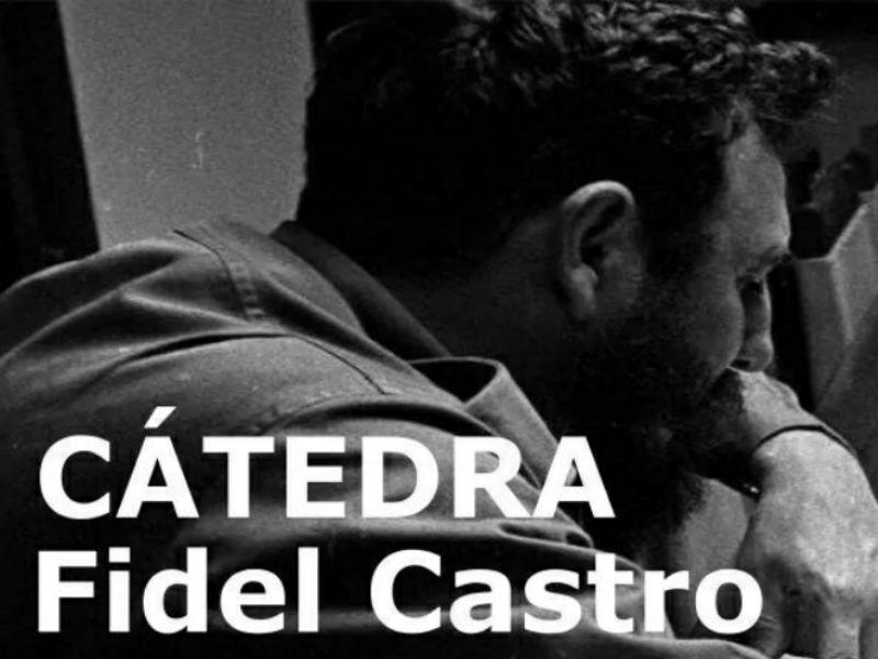 Cátedra Fidel Castro: reconocer el peso histórico de Fidel como proceso histórico