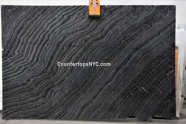 Kenya Black Marble Slab NYC 2cm