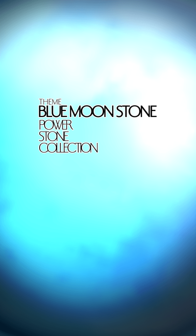 power stone collection BLUE MOON STONE