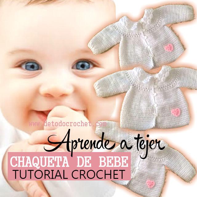 Aprender a tejer crochet para bebe