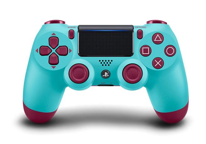 Sony PlayStation 4 DUALSHOCK 4 controller in Berry Blue | Random J Pop