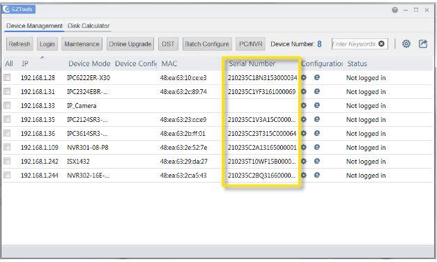 Uniview CCTV Password Reset