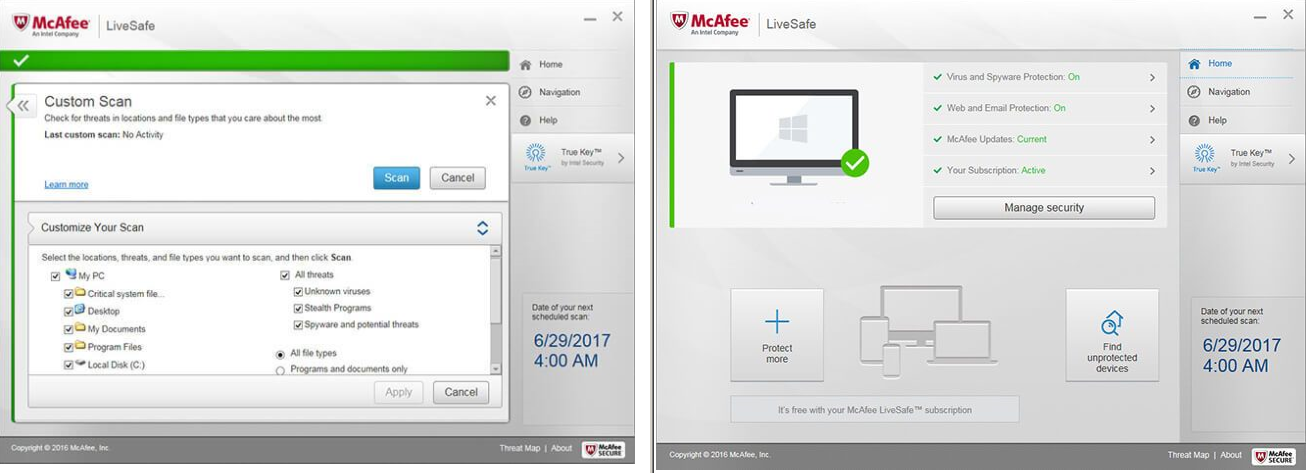 antivirus mcafee full crack