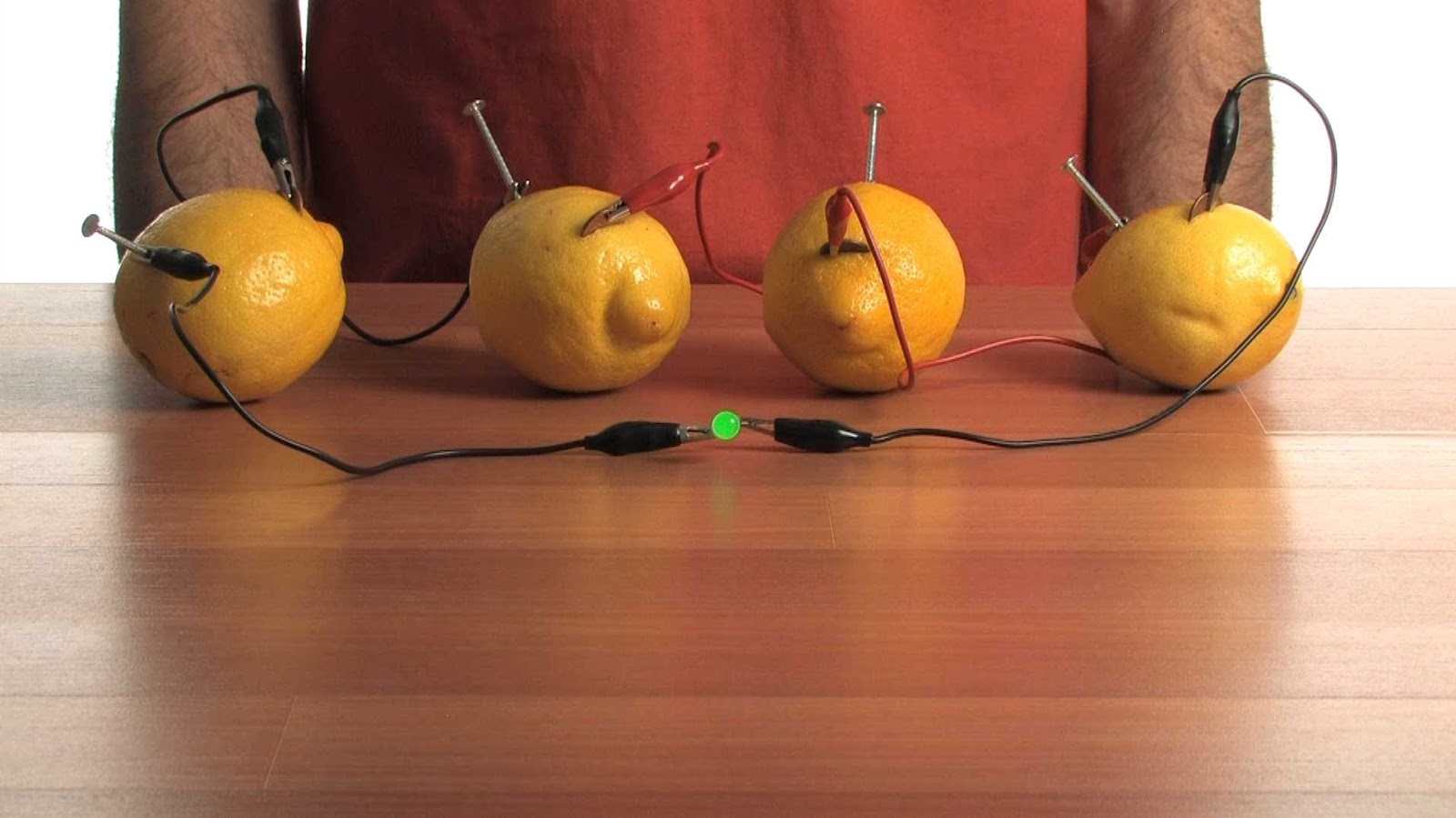 Make Electricity from fruits
