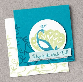 Stampin' Up! Sale-a-Bration Favorite: 6 Beautiful Peacock Projects #stampinup