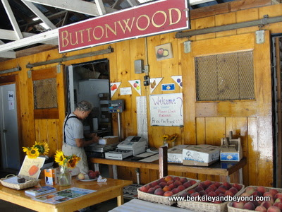 farm stand at Buttonwood Farm Winery in Solvang, California