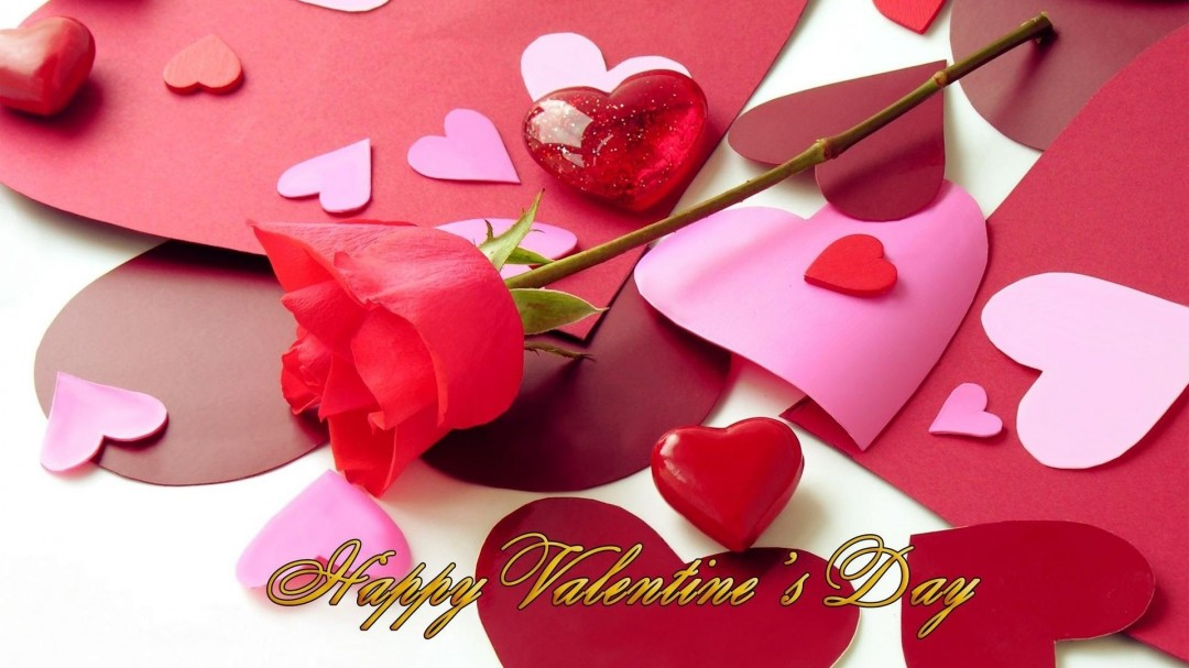 Happy Romantic Valentine\'s Day Loving You Message for Girlfriend ...
