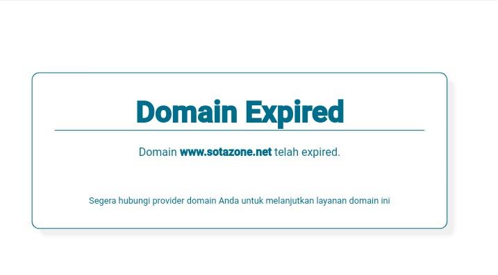 RIP Blog Sotazone dot Net